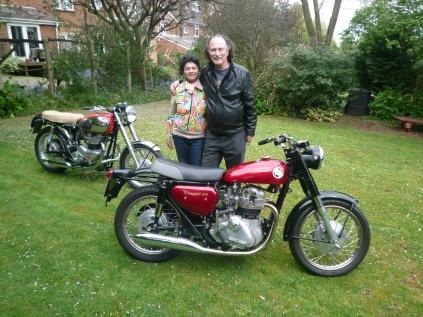 nim & me with bikes